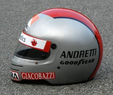 500 Legends Mario Andretti 1982 Ferrari Marlboro Simpson